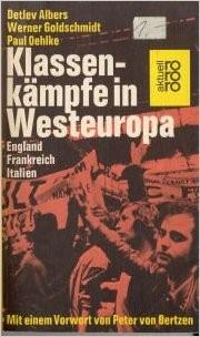 Cover des Buches, Streikende Arbeiter