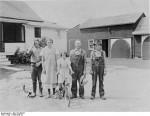 Deutsche Einwandererfamilie in den USA