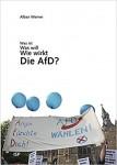Cover des Buches, Transparent mit blauen Luftballons