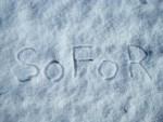 SoFoR im Schnee geschrieben
