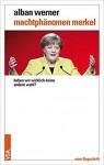 Cover des Buches, Angela Merkel mit ausgebreiteten Armen